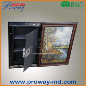 Digital Electronic Concealed in Wall Safe High Security with Picture Frame Adjustable Depth pictures & photos