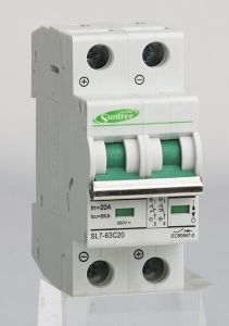 SAA TUV 1p~4p DC 40A Mini Circuit Breaker pictures & photos