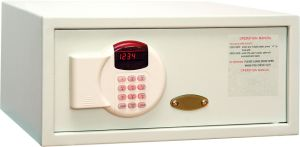 White Metal Digital Safe Box for Hotel Room pictures & photos