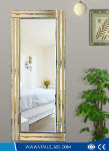 Frame Silver/Aluminium/Decorative Copper Free Mirror with Ce pictures & photos