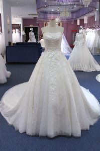 Aoliweiya Gorgeous A Line/Princess Strapless Wedding Dresses pictures & photos
