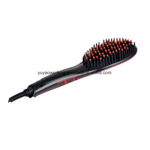 New Style Hair Straighter Brush Hair Styler pictures & photos