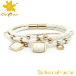 Unique Silver and Leather Bracelets pictures & photos