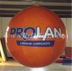 Custom Logo Inflatable Round PVC Helium Balloon K7064 pictures & photos