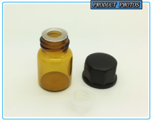 5/8 DRAM 2ml Amber Essential Oil Glass Vial with Orifice Reducer pictures & photos
