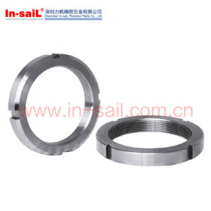 DIN70851 DIN70852 Stainless Steel Round Nuts Slotted for Hook Spanners pictures & photos