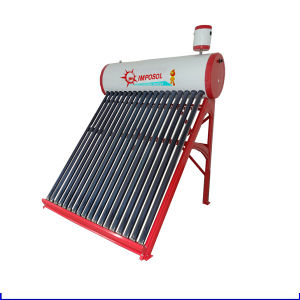 100L-300L Evacuated Tube Solar Geyser Solar Water Heater with Reflector pictures & photos