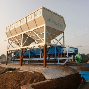 PLD2400 Concrete Batching Plant Hzs90 pictures & photos