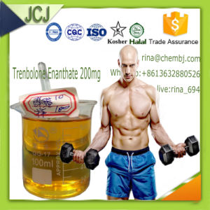 99% Trenbolone Enanthate Injectable Steroid Hormone Parabolan 200mg pictures & photos