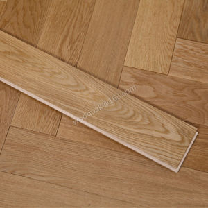 Oak Herringbone Wood Flooring /Wood Flooring/ Parquet/Parquet Flooring pictures & photos