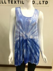 Comfortable Dress for Women with Tie Dye pictures & photos