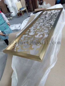 High-Grade 304 Color Stainless Steel Window Screen Metal Decorative Partition Price pictures & photos