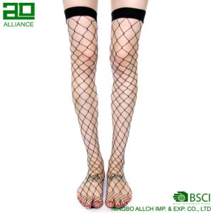 Hot Fashion Thigh High Sexy Fishnet Custom Stockings Socks pictures & photos