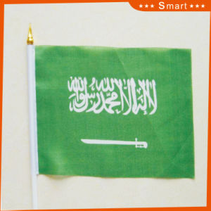 Custom Waterproof and Sunproof National Flag Saudi Arabia National Flag Model No.: NF-049 pictures & photos