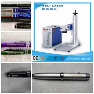 Ss Aluminum Metal Fiber Laser Marking Machine pictures & photos