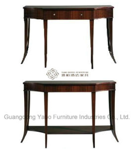 Solid Wood Dressing Table with Six Legs pictures & photos