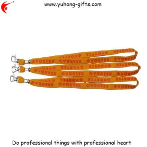 Hot Selling Cheap Polyester Neck Lanyard Rope (YH-L1243) pictures & photos
