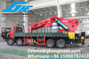 Truck Mounted Crane Cargo Crane pictures & photos