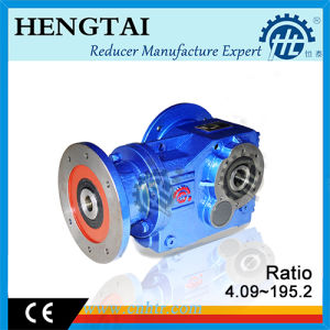 HK Series Flange Mounted Helical Bevel Gear Reducer pictures & photos