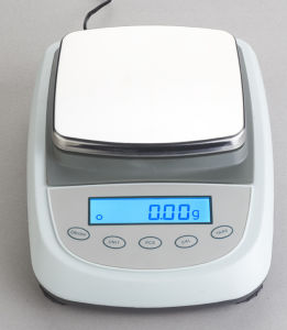 LCD Square Platter Electronic Balance for 0.1g/0.01g with External Calibration pictures & photos