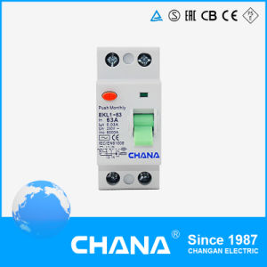 Ce CB Certificate Residual Current Circuit Breaker RCCB (2P 4P) pictures & photos