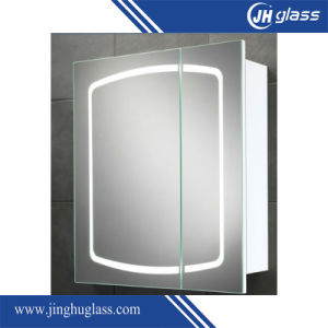 4mm LED Lighted Mirror Cabinet for Bathroom pictures & photos