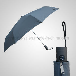 High Quality 3 Fold Automatic Open&Close Flat Umbrella (JF-AQT330) pictures & photos