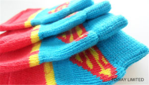 Customized Design Super Man Pet Knitting Anti-Skid Dog Socks pictures & photos