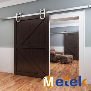 New Developed Unique American Style Wooden Sliding Barn Door Design pictures & photos