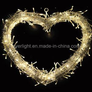 LED Heart Design Sparkle Heart Lights Wedding Decoration pictures & photos