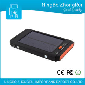 10000mAh Waterproof Portable Solar Power Bank for Mobile Phone Made in Chinawaterproof 8000mAh Power Bank Portable Solar Power Bank Mobile Phone pictures & photos