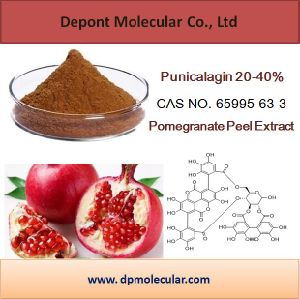 100% Natural Pomegranate Peel Extract Powder Punicalagin 20-40% pictures & photos