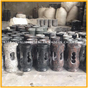 Granite Cemetery Lantern Wholesale Light Lamp for Tombstone/Monument pictures & photos