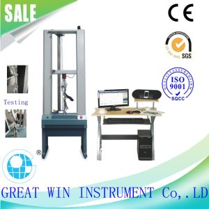 Desktop Digital Double Pole Universal Tensile Testing Machine for Metals/Buckle (GW-010F) pictures & photos