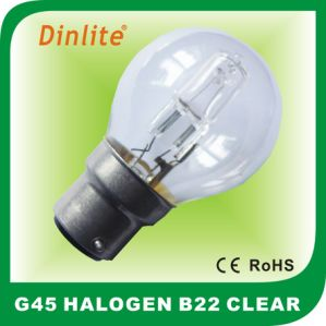 High quality G45 globe E27 halogen light bulb pictures & photos