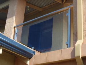 Exterior Stainless Steel Tempered Glass Railing Meet Australian Building Code pictures & photos
