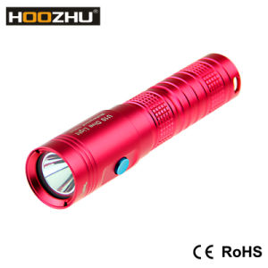 Hoozhu U10 Mini LED Flashlight 80 Meters Scuba Mini Diving Flashlight Diving Rechargeable Flashlight pictures & photos