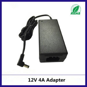 Input 100-240V AC/DC 12V 4A Power Supply with Ce RoHS Approval pictures & photos