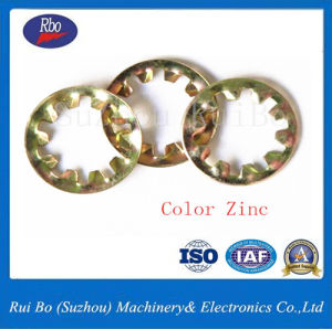 Stainless Steel DIN6797j Internal Teeth Washer Steel Zinc Plated Fender Washers pictures & photos