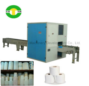 Full Automatic Small Toilet Paper Roll Making Machine Production Line pictures & photos