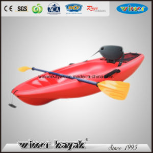 No Inflatable Child Canoe Kayak with Paddle pictures & photos