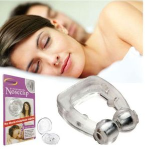 Sleeping Healthy Silicone Magnetic Snore Free Nose Clip pictures & photos