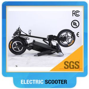 Folding Hub Motor Electric Scooter with 14 Inch Big Wheel pictures & photos