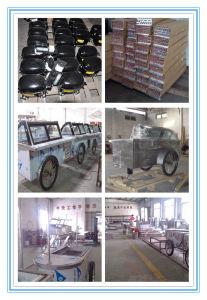 Stick and Ice Cream Carts / Italian Gelato Showcase Freezers pictures & photos