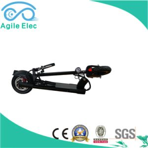 36V 250W Green Motor Powered Electric Scooter with Battery pictures & photos