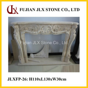 Stone Marble Carving Fireplace in European Style pictures & photos