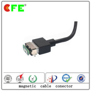 12V Magnetic Cable Connector Male and Female for Medical Equipment pictures & photos