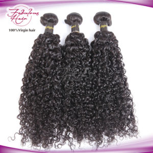 Virgin Brazilian Curly Wave Hair Weaving pictures & photos