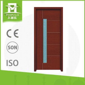 Chinese Manufacturer Excellent Quality Modern Solid Wood Door pictures & photos