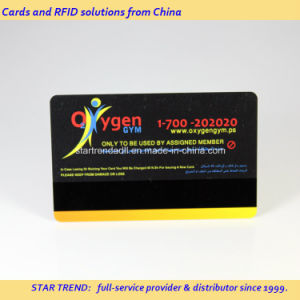 Printed PVC Plastic Magnetic Stripe Card for Gym Loyalty pictures & photos